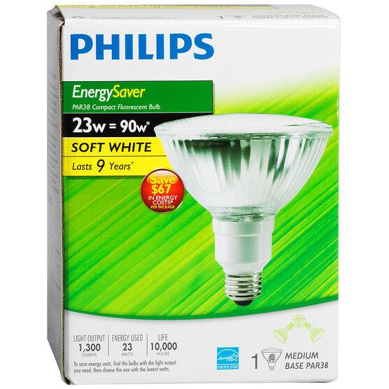 Philips Reflector 23W/90W Compact Fluorescent Bulb - Soft White