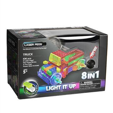 Laser Pegs Truck Kit