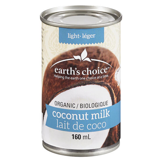 Earth's Choice Organic Light Coconut Milk - 160ml