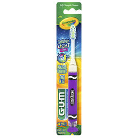 G.U.M. Crayola Timer Light Toothbrush