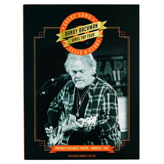 Randy Bachman Vinyl Tap Tour: Every Song Tells a Story Deluxe Edition - DVD