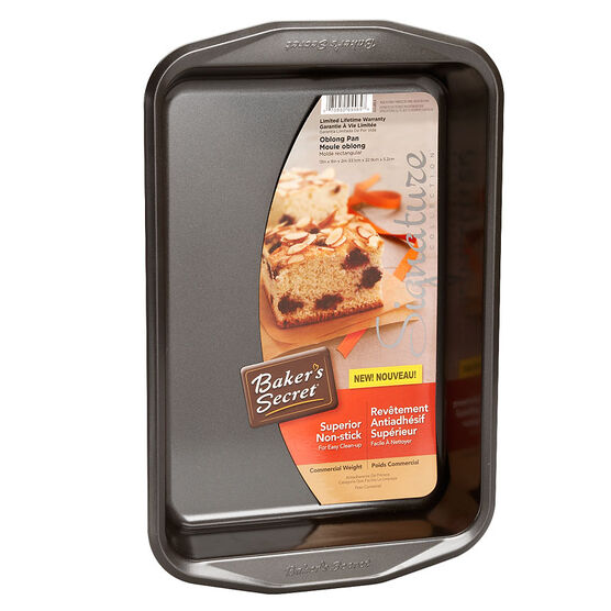 Baker's Secret Oblong Pan - 33.1 x 22.9 x 5.2cm