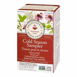 Traditional Medicinal Tea - Cold Season Sampler - 20's