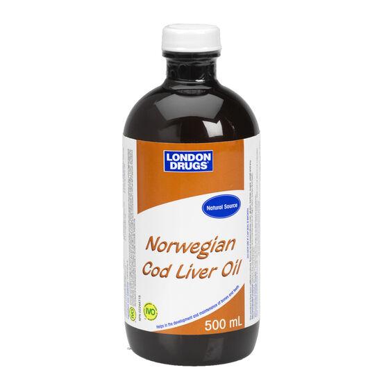 London Drugs Norwegian Cod Liver Oil - 500ml