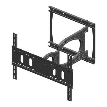 Evermount Slim Articulating Bracket - Black - EMSA1000