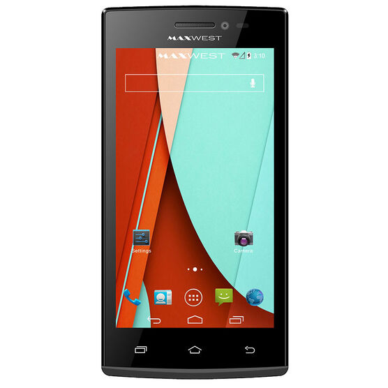 Maxwest Astro 4.5 Smartphone - Black