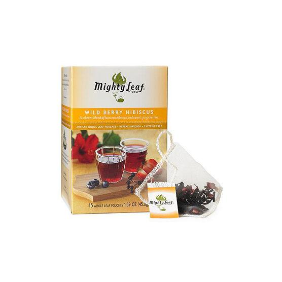 Mighty Leaf Wild Berry Hibiscus Tea - 15's