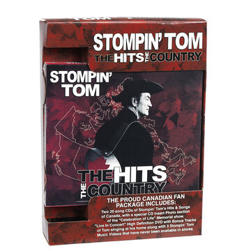Stompin' Tom Connors - A Truly Proud Canadian Collection - 2CD/DVD