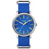 Timex Women's Fashion Watch - Blue/Silver - T2P362AW