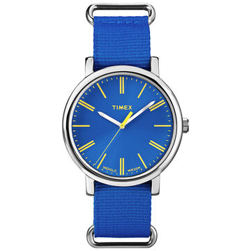 Timex Women's Fashion Watch - Blue/Silver - T2P362AW