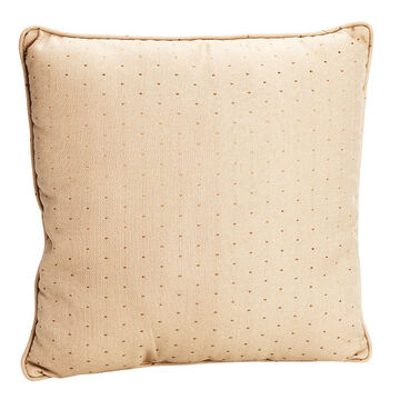 London Drugs Dobby Diamond Cushion - Dark Gold