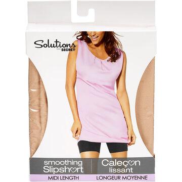 Solutions by Secret Midi Length Smoothing Slipshort - Medium - Nude