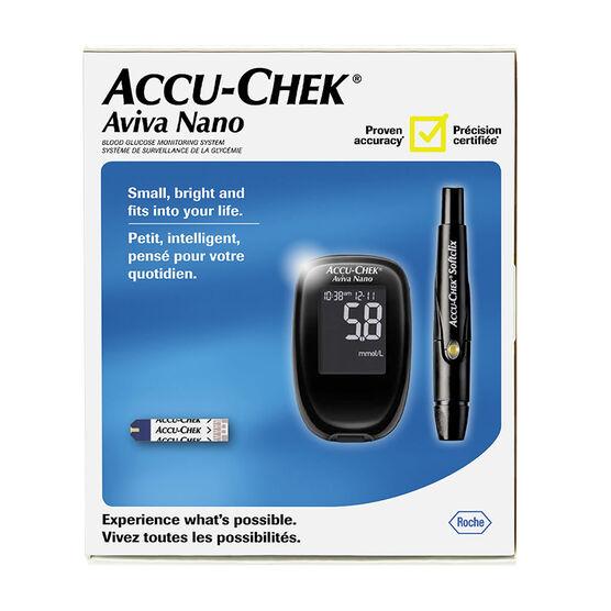 Accu-Chek Aviva Nano Blood Glucose Meter System - 21253