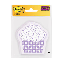 """3M Post It Cupcake Sticky Notes - Assorted - 3"""" x 3"""""""