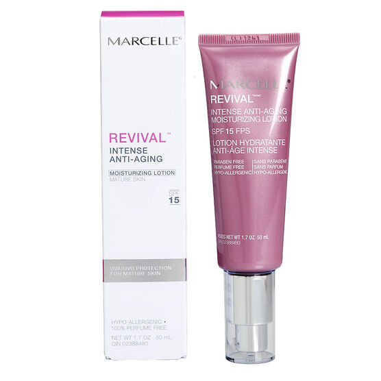 Marcelle Revival Intense Anti-Aging Moisturizing Lotion with SPF 15 - 50ml