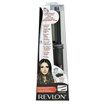 Revlon Nano Diamond Retractable 1inch Iron - RVIR1093F