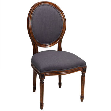 London Drugs Louis 16th Linen Chair - 51 x 65 x 100cm