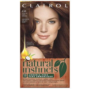 clairol natural instincts hair colour 6 5r light auburn. Black Bedroom Furniture Sets. Home Design Ideas