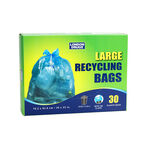 London Drugs Recycling Bag - Clear Blue - 30's