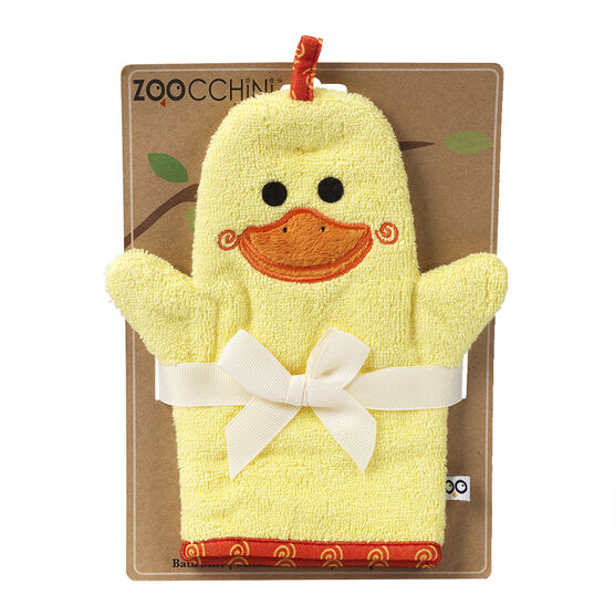 Zoocchini Bath Mitts - Puddles the Duck - ZOO100
