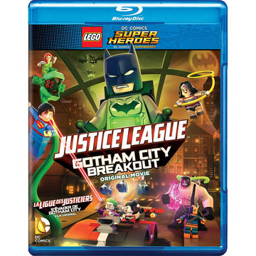 Lego DC Super Heroes: Justice League: Gotham City Breakout - Blu-ray