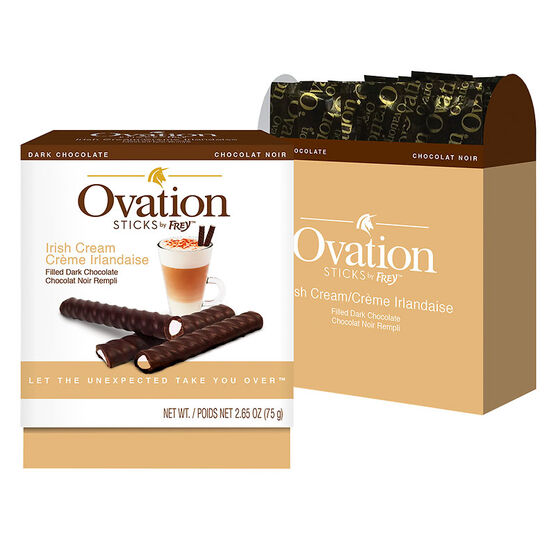 Ovation Chocolate Sticks - Irish Cream - 75g