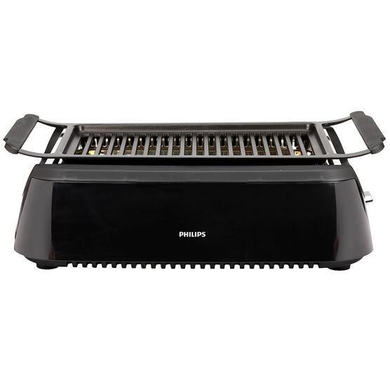 Philips Smokeless Grill - Black - HD6371/94