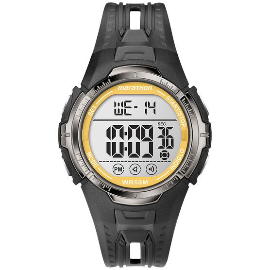 Timex Marathon Digital - Grey/Yellow - T5K8039J
