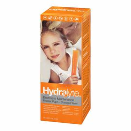 Hydralyte Electrolyte Freeze Pops - Orange - 16 x 62ml