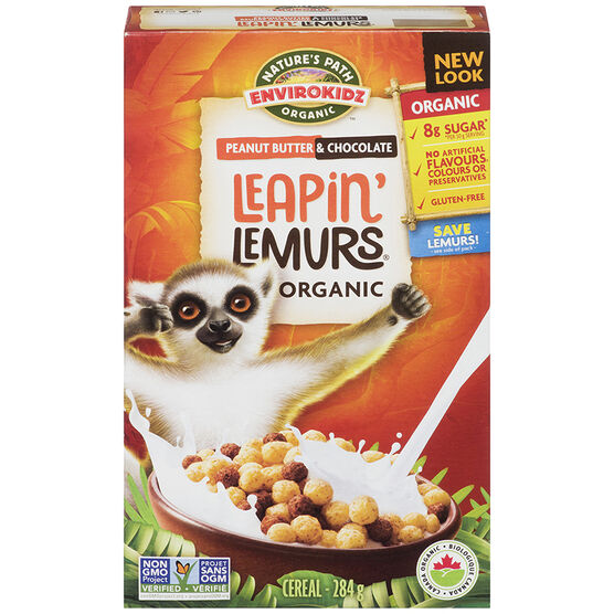 Nature's Path Envirokidz Cereal - Peanut Butter & Chocolate - 284g