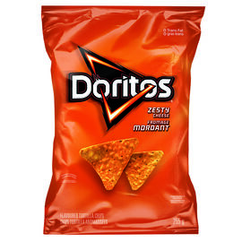 Doritos Tortilla Chips - Zesty - 255g