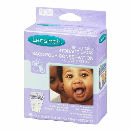 Lansinoh Breastmilk Storage Bags - 25's