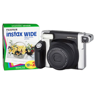 Fuji Instax Wide 300 with Instax Wide Film Twin Pack - PKG 24565