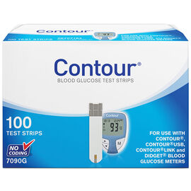 Bayer Contour Test Strips - 100's