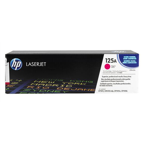 HP LaserJet 125A Toner Cartridge Magenta - CB543A