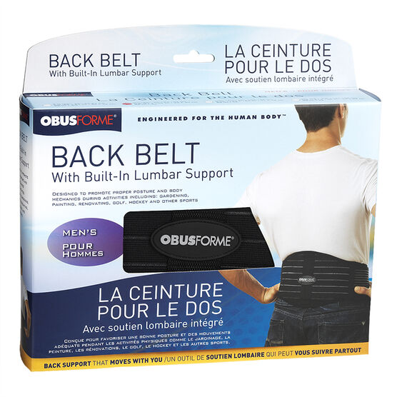 ObusForme Back Support Belt - Men's - BB-ML1-ML-4