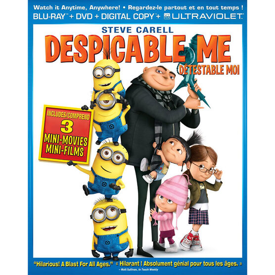 Despicable Me - Blu-ray + Digital copy + Ultraviolet