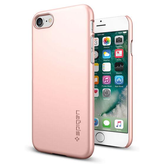 Spigen Thin Fit Case for iPhone 7 - Rose Gold - SGP042CS20429