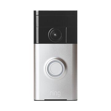 Ring Wi-Fi Video Doorbell - Satin Nickel