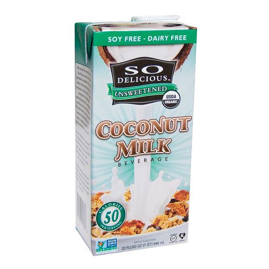 So Delicious Coconut Milk - Unsweetened - 946ml