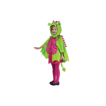 Halloween Dragon Cape - Toddler - Green/Pink