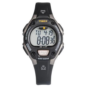 Timex Ironman Triathlon 30 Lap Mid Size Watch - Black Gray - 5E961