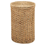 London Drugs Seagrass Water Hyacinth Hamper with Lid