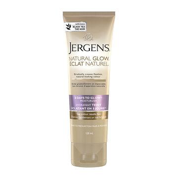 Jergens Natural Glow 3 Days to Glow Moisturizer - Fair to Medium - 120ml
