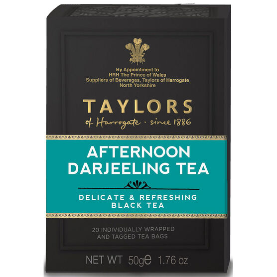 Taylors of Harrogate Tea -Afternoon Darjeeling - 20's