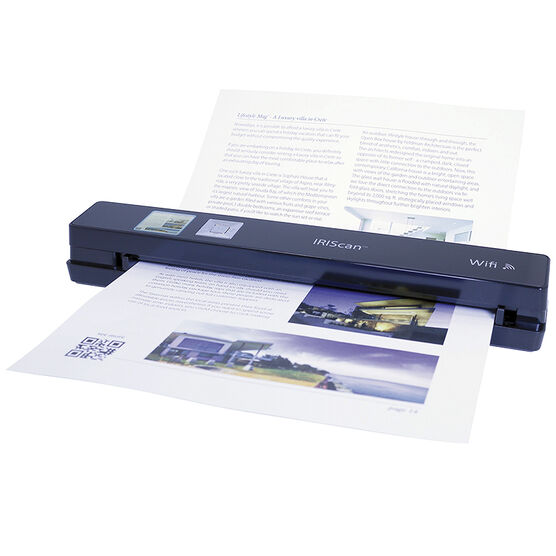 IRIScan Anywhere 3 Wifi Mobile Sheetfeed Scanner