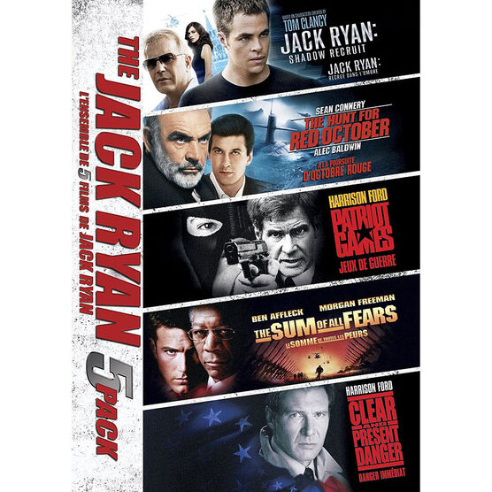 Jack Ryan Movie 5-Pack - DVD
