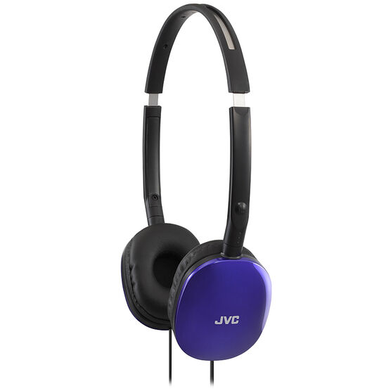 JVC Flats Headphones - Blue  - HAS160A