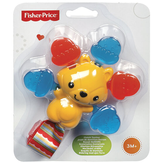 Fisher Price Clutch Teether Acorn Squirrel