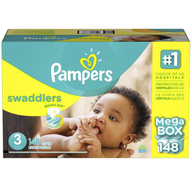 Pampers Swaddlers Diapers - Size 3 - 148s
